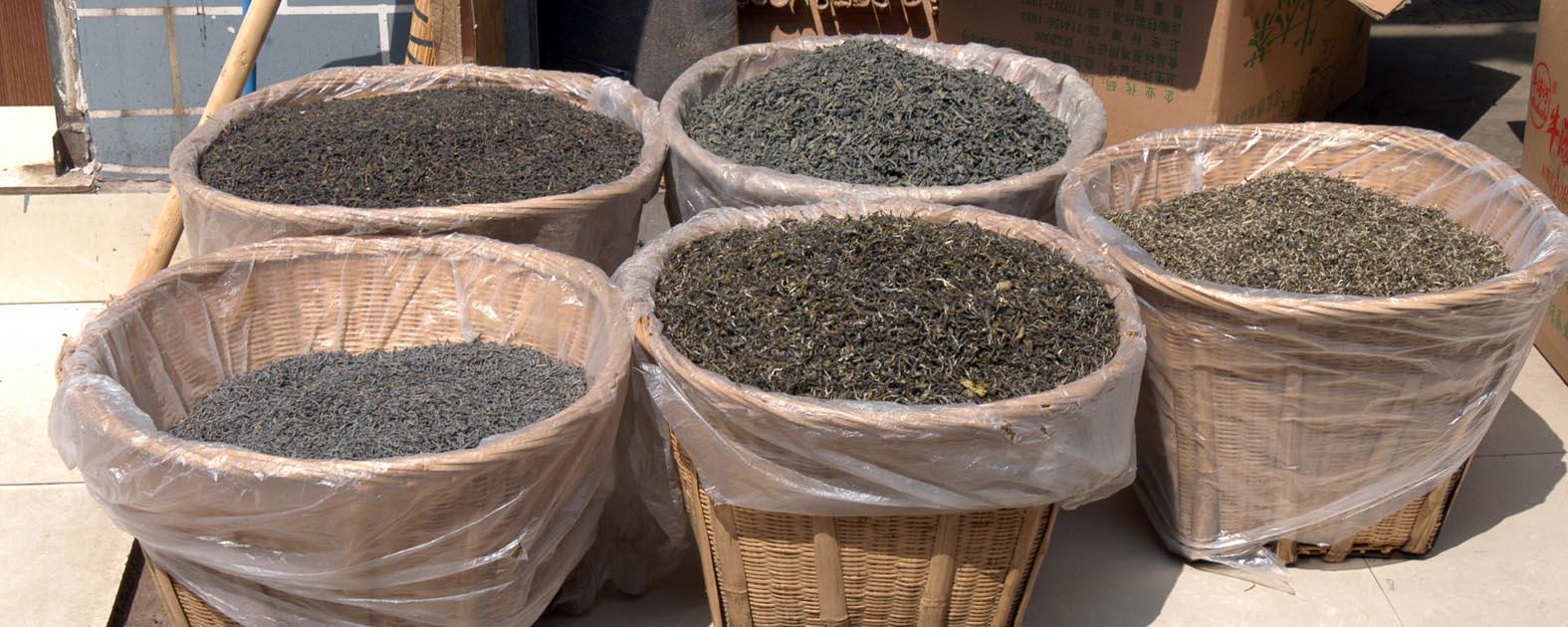 Kunming Tea Market