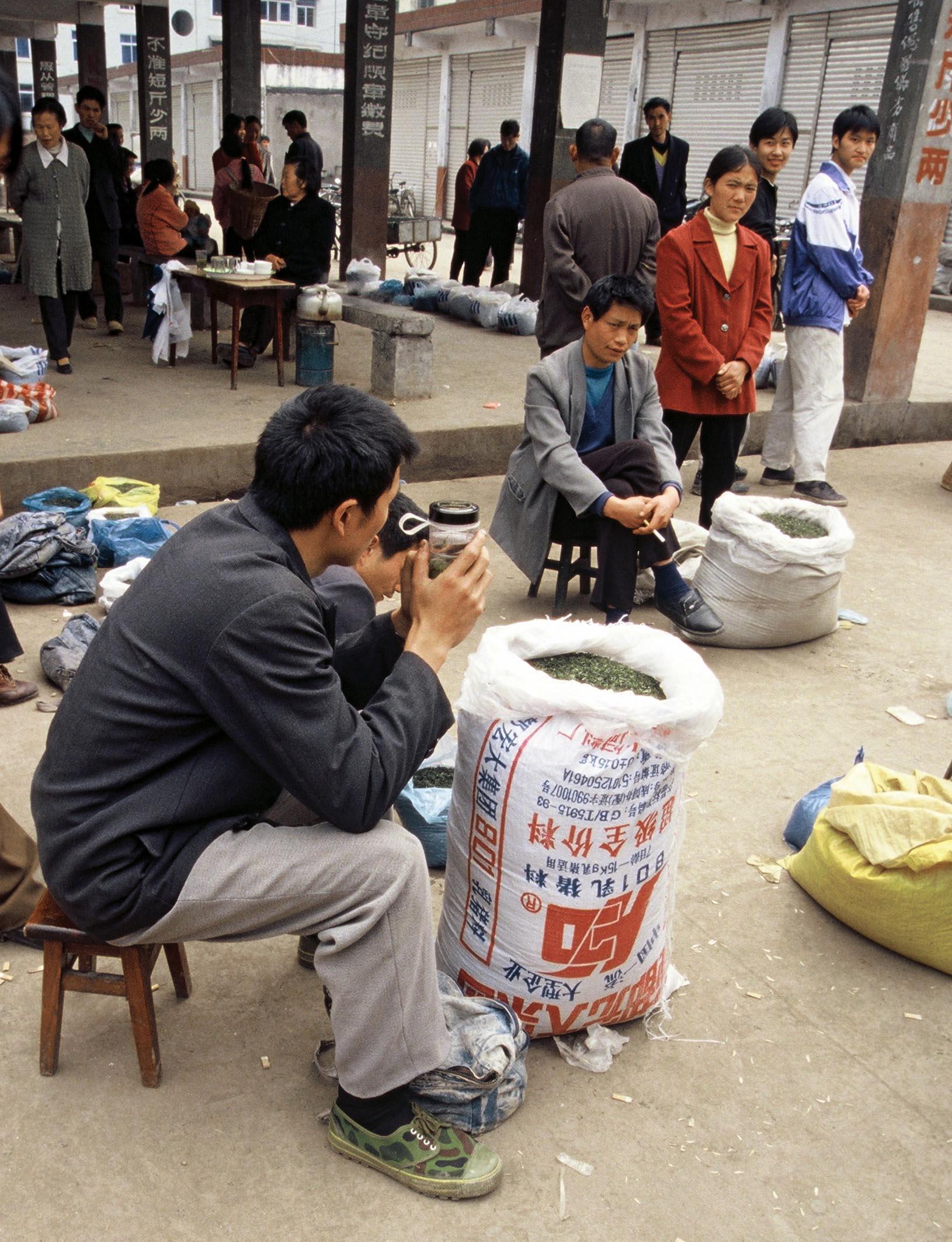 Tea Market Meng Ding