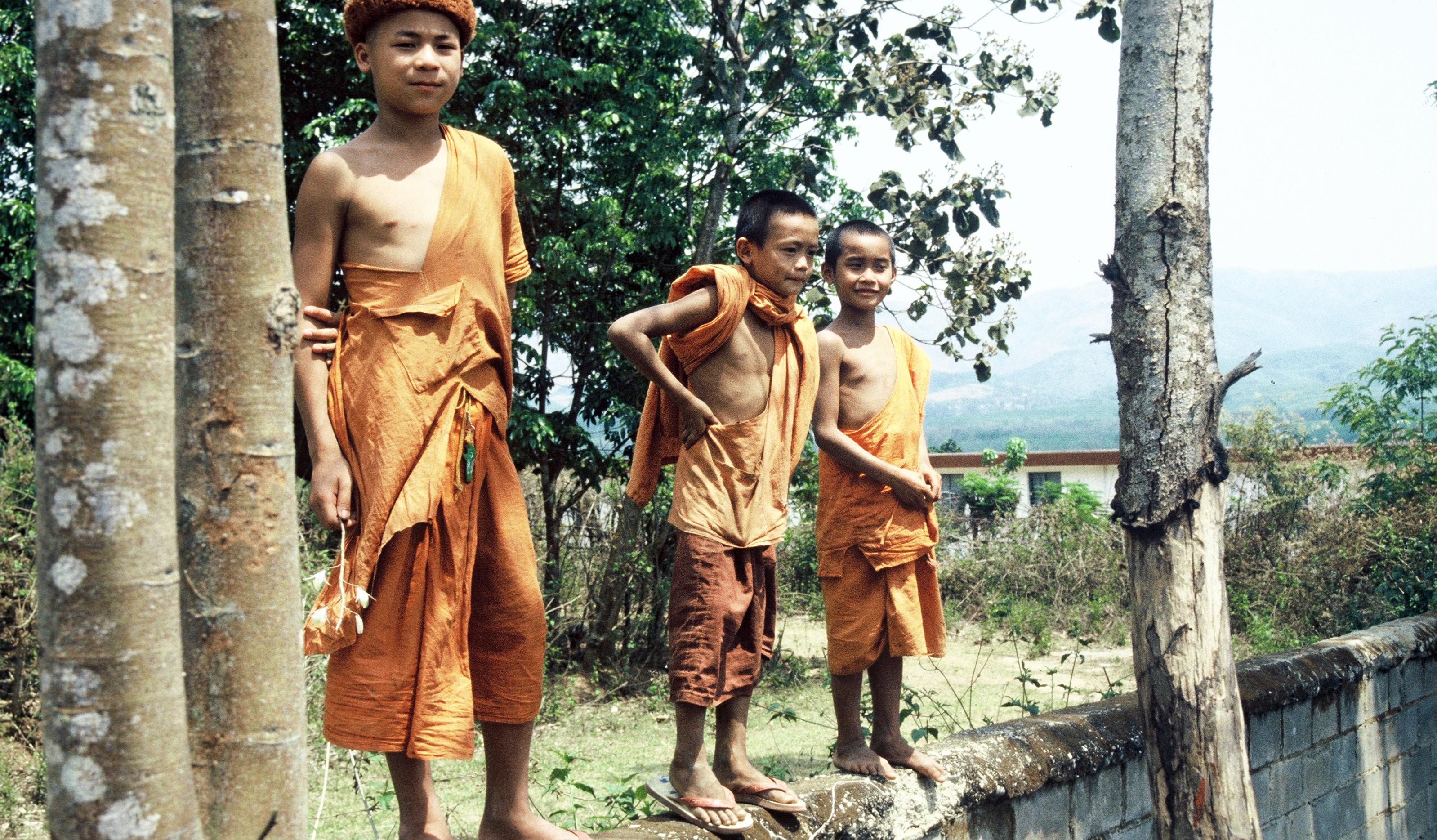 Young Monks Xishuangbanna
